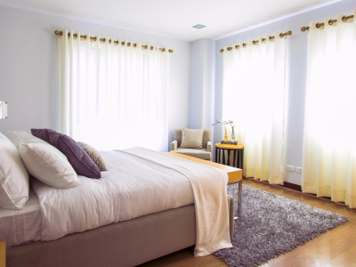 A beautiful bedroom cleaning service
